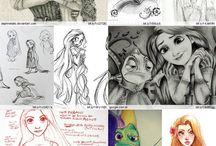 Disney-Zeichnungen