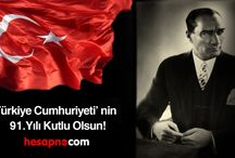 Güncel / 29 Ekim Cumhuriyet Bayramımız kutlu olsun!