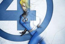 Marvel & DC Comic
