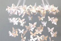 papier papillons