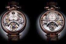 Extraordinary timepieces