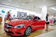 New Mercedes CLA in Peek & Cloppenburg (Bonarka City Center Cracow) // Nowa Klasa CLA w Peek & Cloppenburg w Bonarka City Center