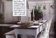 Tables / Farmhouse tables, formal tables, reclaimed wood