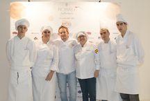 Photocall con los cocineros del Encuentro Atlas Gourmet / ¡Un placer contar con vuestra presencia, maestros!
