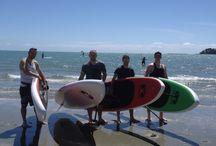 Moana Stand Up Paddle Board hire Tahuna Nelson NZ / SUP
