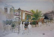 dibujos y pinturas NM