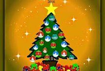 """Natale da Vivere / Raccoglie i progetti inseriti nelle raccolte a tema natalizio organizzate nei blog """"decoriciclo"""" e """"Africreativa"""""""