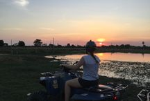 Cambodia Quad SUNRISE / Tour finishes at Cambodia Quad Bike office at about 8:30 am. After you wash mud off your feet and take a refreshing drink, we will transfer you back to your hotel in Siem Reap.