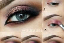Eye makeup tuts