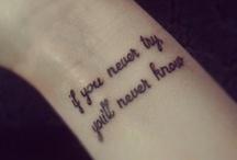 tattoos I like / by Lups Z