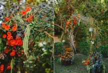 Arch flowers weddings