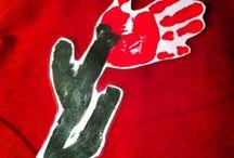 Sant Jordi / Treballs plàstics i altres relacionats amb la diada se Sant Jordi