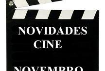 Cine NOVEMBRO 2016 / NOVIDADES  de CINE na Biblioteca Ánxel Casal. Novembro 2016