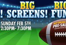 Super Bowl LI / See what's happening for The Big Game at The Boulevard and also get inspiration for your Super Bowl LI party.