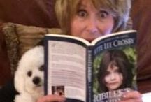 Fun with my FanFriends / FanFriends having fun with my books. Feel free to share a picture of you reading one of my books here too!