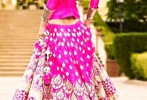 Dress me pretty - Lehengas for our pretty Ladies !! / The Joy of dressing is an Art - John Galliano We select all these pretty looking clothes for you to get ideas for your Perfect Dress !                                                             Happy Pinning !