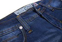 Q Series 001 Dark Blue / Skinny Fit 5 pocket for Ladies series. 10oz sanforized denim with Zip fly. 90% cotton 8% polyester 2% elastane