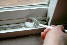 cleaning in window slots