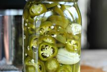 Canning, pickling, drying, freezing