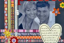 Scrapbook pages love