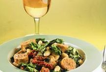 Wine Pairings / Wine and dine... just make sure your food and wine go together well.