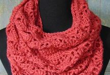 Crochet: scarves and winter