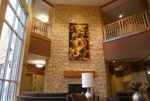 Tapestries on Display