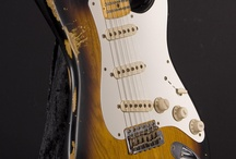 Fender Stratocaster / Pictures of the famous Stratocaster guitar n'y Fender
