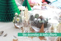 créa table de noel