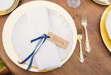 MARIAGE EN BLEU / Retrouvez dans ce tableau, des idées pour organiser un mariage en bleu... http://beforeanythingelse.fr/