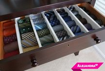 Clothes Storage / Ideas, inventions, wardrobes... Ways of storing men's clothes.