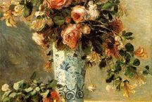 Pierre Auguste Renoir flowers