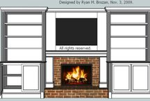 Fireplace / by Beth Fellenz Bradley