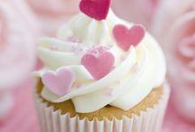 valentin cake decor