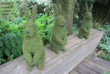 Creatief met tuinen / Tuinideeën