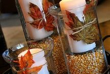 Fall decorations / by Lisa Lacher
