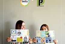 Crafts: Project Life / by Cute as a Button Baby Props