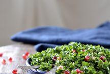 Salater - opskrift dansk text