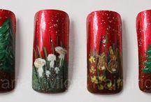 Art Christmas Nails