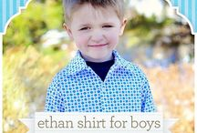 little men sewing patterns / by scientific seamstress