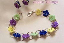Button bracelets / by Jude's Vintage