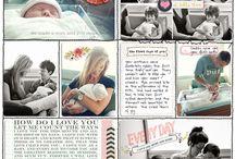 Scrapbook Ideas / by Katherine Vogel