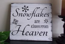 Snowflakes / I have been fascinated bij snow all my life.