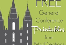 General Conference Ideas / by Susan Butzin