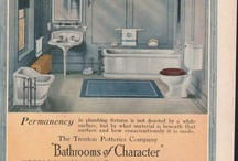 CURIOSITY | Bathroom Vintage Ads / Collection of vintage ads - bathroom and design.