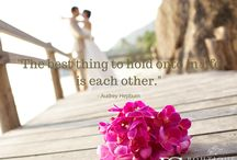 Love Quotes / Romantic quotations to incorporate into your wedding day or to simply tell your partner how much you love them.