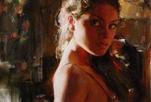 Yağlı boya portreler