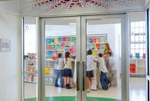 School Library Doors and Entrances