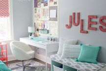 Erin's bedroom ideas / by Kristen Peden