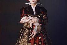 Alice au pays des merveilles costumes